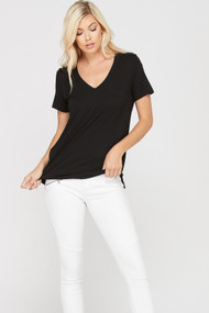 The Basic Tee- Black