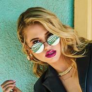 Quay Australia Farrah Sunglasses- Mint