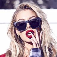 Quay Australia Alright Sunglasses- Black