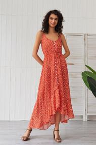 The Kate Maxi Dress- Orange