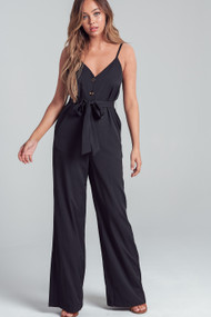 The Eva Jumpsuit- Black