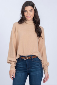 The Adelyn Sweater- Camel