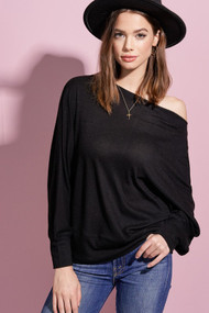 The Charlotte Top- Black