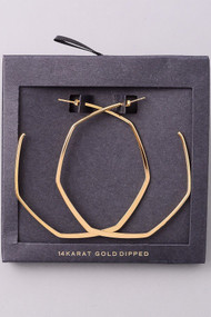 The Britt Earrings- Gold
