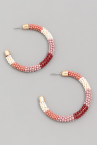 The Jasmin Earrings- Pink
