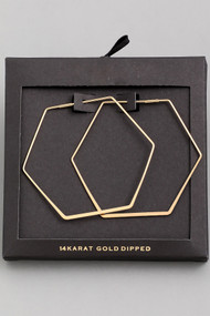 The Danielle Earrings- Gold