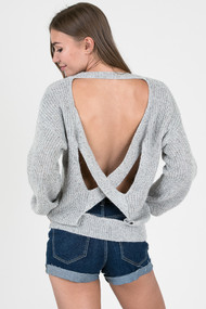 The Keeley Sweater- Grey