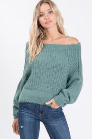 The Kate Sweater- Jade