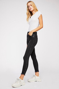 Free People Raw High Rise Jegging Jeans