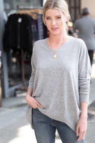 The Bree Sweater-Grey
