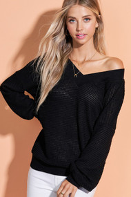 The Kayla Top-Black