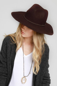 The Amber Hat- Brown
