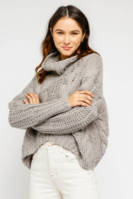 The Jen Sweater- Grey