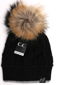 C.C. Black Label Special Edition Black Beanie