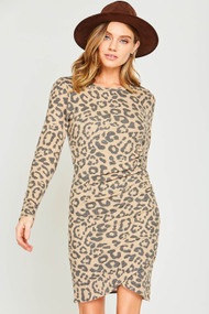 The Allie Dress- Leopard