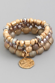 The Annette Bracelets- Nude