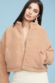 The Katey Jacket- Camel