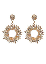 The Becky Earrings- Gold