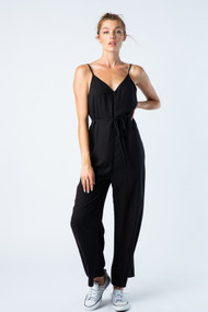 The Sidney Jumpsuit-Black