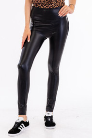The Haylee Faux Leather Leggings
