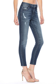 The Austin Jeans-Mid Rise Crop Skinny
