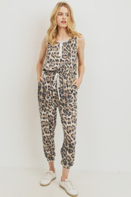 The Cody Jumpsuit- Leopard