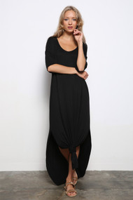 The Mel Maxi Dress- Black