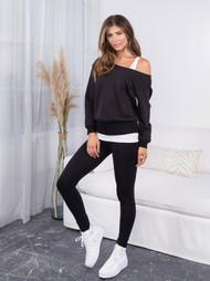 The Malibu Sweatshirt- Black