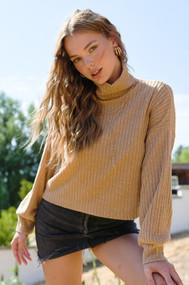 The Julia Sweater- Camel