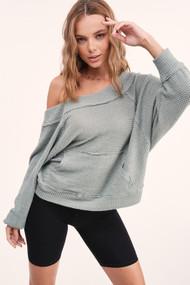 The Natalie Shirt- Sage