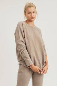 The Brenton Sweatshirt- Mushroom