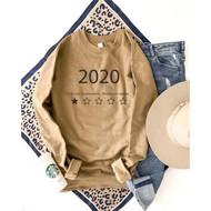 2020 Sweatshirt- Camel