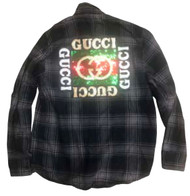 The G Gang Flannel-Black