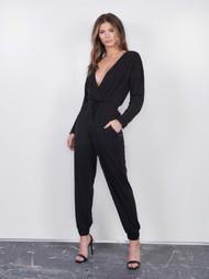 The Janine Jumpsuit- Black