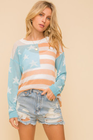 The American Flag Sweater