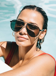 The Otra Celeb Sunglasses-Black