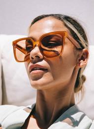 The Otra Sweet About Me Sunglasses- Sweet Tea