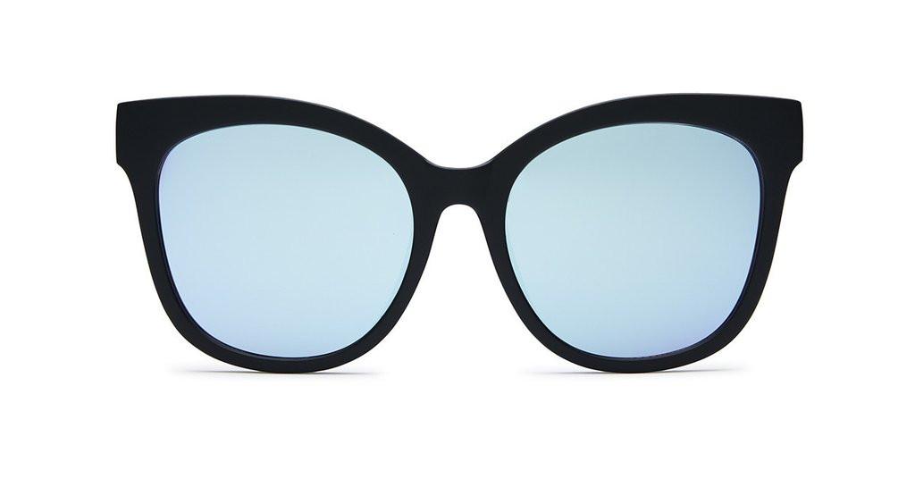 47638efc76 ... Quay Australia It s My Way Sunglasses Black and Purple. Image 1