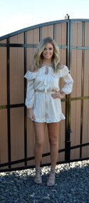 J.O.A Off The Shoulder Romper