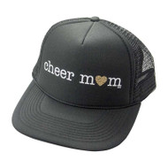Mother Trucker- Cheer Mom Black/Gold