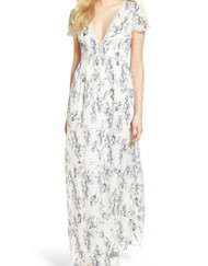 Lucca Couture Floral Maxi