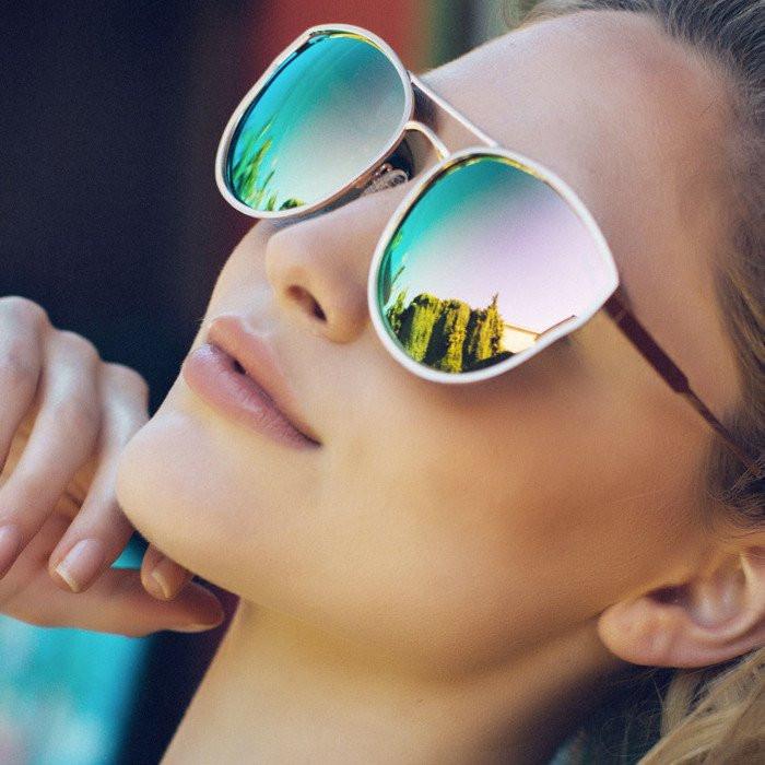 9fd156fcac141 Quay Australia Cherry Bomb Sunglasses - Rose Gold Pink - Bria Bella ...