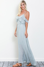 The Yasmin Maxi Dress- Mint