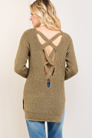 The Kerrigan Sweater- Olive