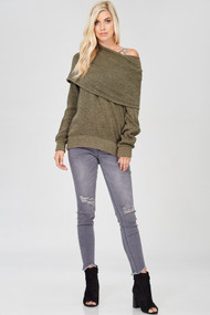 The Tensley Top- Olive