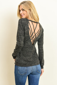 The Danica Top- Black