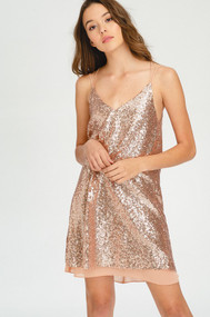 The Presley Dress- Rose Gold