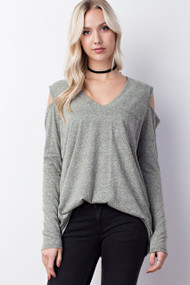 The Mila Top- Army Green