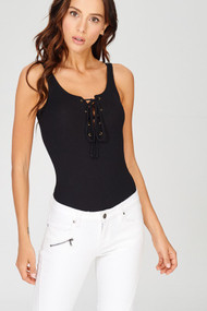 The Quinn Bodysuit- Black
