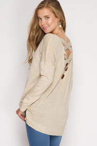 The Kinley Top- Taupe